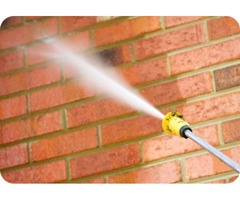 Commercial pressure washing - Edmonton Window Cleaners