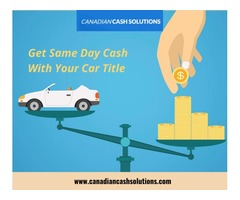 Car Title Loans Kitchener With Low Interest Rates