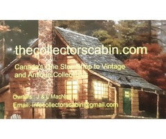 The Collectors Cabin is Canada's online
