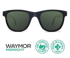 Online Shop Waymor Midnight Sunglasses With Polarized Lenses