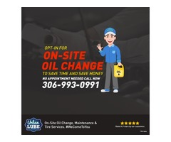 On Site Oil Change In Regina