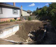 Pool Demolition In Pickering