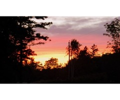 SERVICED LAND FOR SALE (just under an acre)- Digby //Bear River area in NOVA SCOTIA  $ 21,000. US
