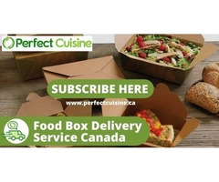 Subscribe to Weekly Food Box Delivery in Canada