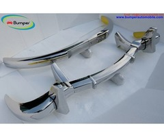 Stainless Steel Bumper Set for the Mercedes 300SL gullwing coupe (1954-1957)