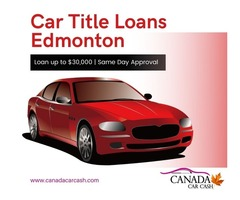 Apply Car Title Loans Edmonton to conquer poor finance