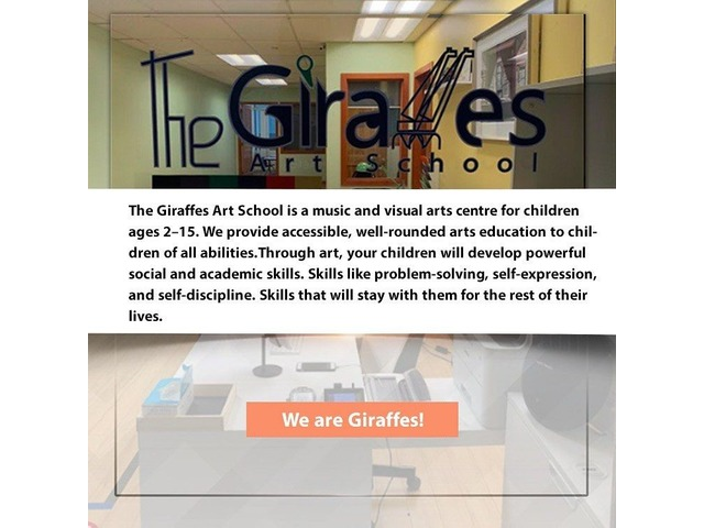 Art School The Giraffes | free-classifieds-canada.com