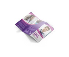 Brochures Matte finish