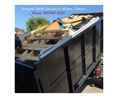 Dumpster Rental for Waste Management in Tottenham