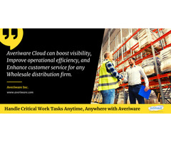 Affordable Cloud ERP System for the distribution industry – Try a free online demo today!