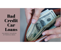 Bad Credit Car Loans Chilliwack - Your Perfect Partner For Financial Issue