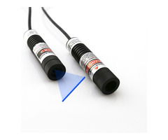 Quick Pointing Glass Coated Lens Blue Laser Line Generator