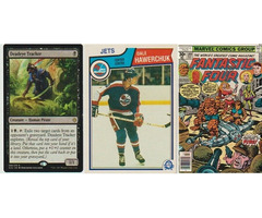 HOCKEY AND MTG CARDS FOR SALE