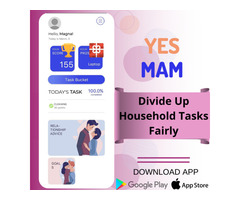 Schedule Household Chores Fairly - Yes Mam