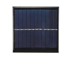 5Pcs 5.5V 1W 180mA Polycrystalline 95mm x 95mm Mini Solar Panel Photovoltaic Panel