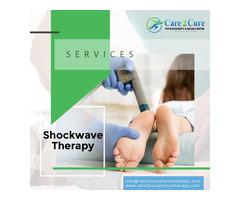 Shockwave Therapy Ottawa | For Chronic Pain Relief | Care2Cure Physiotherapy