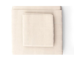Pearl Organic Sheet Collection - BedBreeZzz