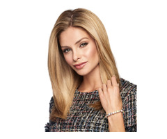 """16"""" Topper Layered Raquel Welch Synthetic"""
