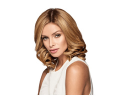 """10"""" Topper Layered Raquel Welch Synthetic"""