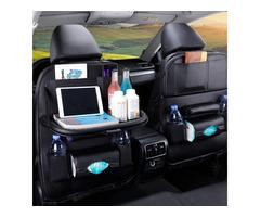 Premium Car Back Seat Organizers (2 PACK)