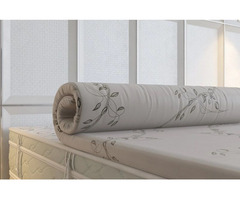 Verona Natural Rubber pillow top 2'' - BedBreeZzz