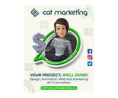 Cat Marketing - Graphic Design in Canada