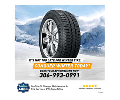 It's Not Too Late For Winter Tire