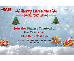 Gemexi Biggest Christmas Carnival Sale - 21 TO 31 Dec 2020
