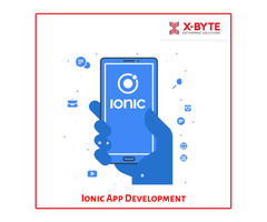 Ionic App Development Services Company in CANADA | X-Byte Enterprise Solutions