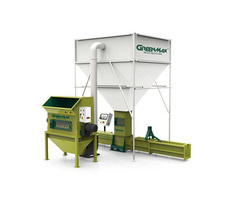 GREENMAX recycling machine of polystyrene  compactor A-300