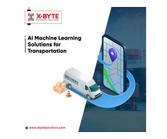 AI Machine Learning Solutions for Transportation | X-Byte Enterprise Solutions