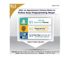 Digital Fingerprinting Service in Canada.