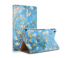 Apricot Flower Painting Tablet Case for Xiaomi Mipad 4 Plus