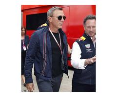 No Time To Die Daniel Craig Cotton Jacket
