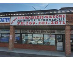 Urban shades| Dual shade| Sliding Panels| venetian-blinds