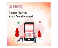 React Native App Development Company in CANADA   X-Byte