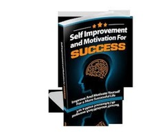 Self Improvement and Motivation for Success book for sale
