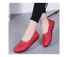 Closed Toe Flat Heel Shoes (1625325778)