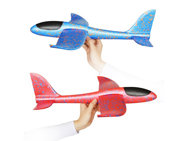 48cm Big Size Hand Launch Throwing Aircraft Airplane Glider DIY Inertial Foam EPP Children Plane Toy   free-classifieds-canada.com