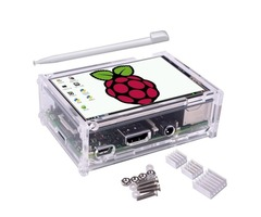 Geekcreit® 3.5 inch TFT LCD Touch Screen + Protective Case + Heatsink+ Touch Pen Kit For Raspberry P