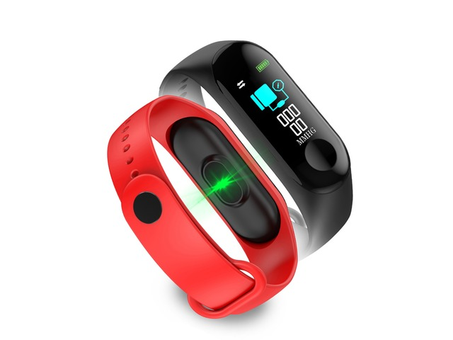 Bakeey M3 Color Screen Smart Watch Heart Rate and Blood Pressure Monitor Smart Bracelet | free-classifieds-canada.com