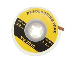 3mm Desoldering Braid Solder Remover Wick Wire