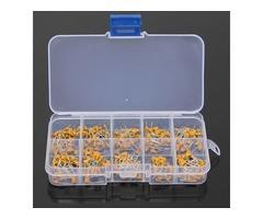 300pcs 10 Values 50V 10pF To 100nF Multilayer Ceramic Capacitor Assortment Kit 30pcs Each Value