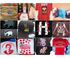 Custom T shirt Printing | Online Digitizing Solution | T-Shirt Priniting | digitime.ca