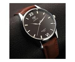 YAZOLE 318 Luminous Display Casual Style Clock Men Watch