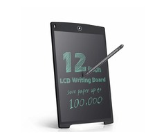 12 Inch LCD Update Multi function Writing Tablet 3 in 1 Mouse Pad Ruler Drawing Tablet Handwriting P