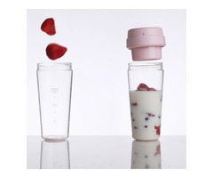 Xiaomi 17PIN 400ML Star Fruit Juicer Bottle Portable DIY Juicing Extracter Cup Magnetic Charging Out