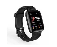 Bakeey 116 Plus 1.3' Custom Dial Dynamic Blood Pressure Oxygen Message Push Multi-language Smart Wat