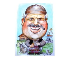 Get the Caricature from Photographs | Portrait Master