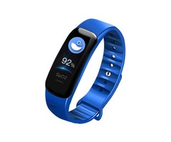 XANES® C1S 0.96inch IPS Color Screen IP68 Waterproof Smart Watch Heart Rate Blood Oxygen Monitor Fit